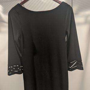 Laundry size 0 black cocktail dress